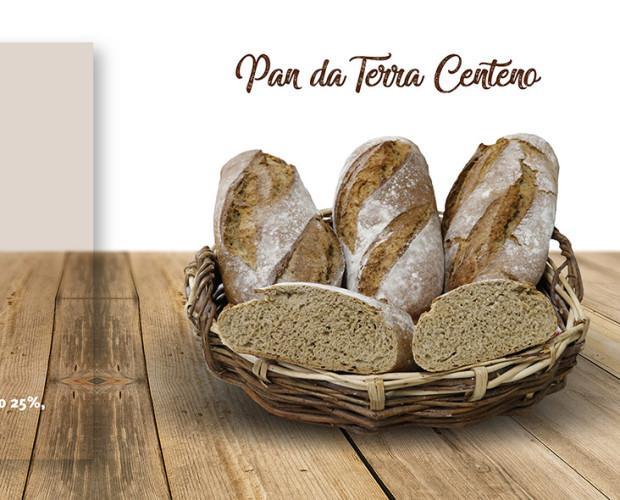Pan da terra centeno. Disponemos de una amplia variedad de pan