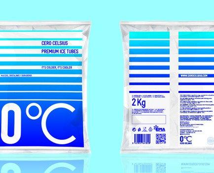 Premium Crushed Ice. Hielo picado de calidad superior.