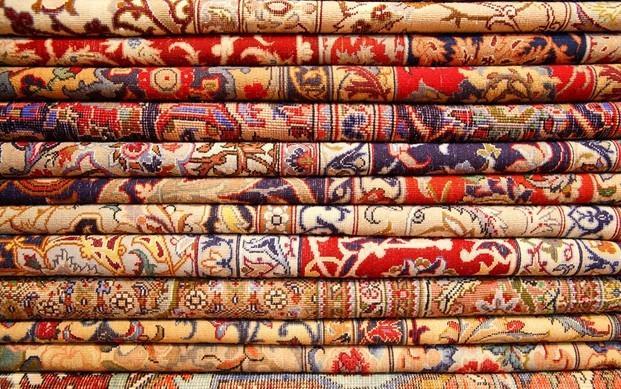 Alfombras . Varios tipos de alfombras