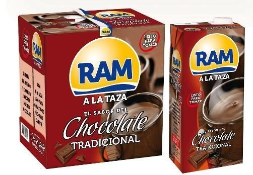Leche. Chocolate Marca Ram, de nuestros productos más nuevos