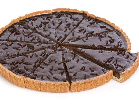 TARTA DE CHOCOLATE. Para los Amantes del Chocolate, lista para compartir .