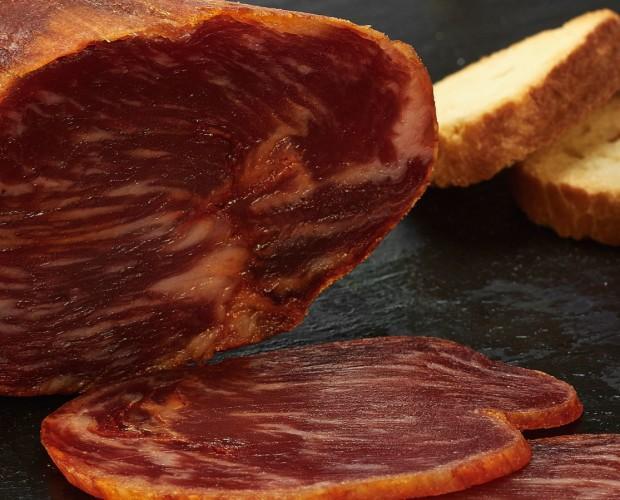 Carne de Cerdo. Lomo de bellota 100% ibérico, Pata Negra