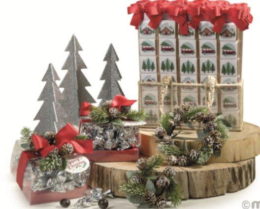 Regalo de empresa. Regalo de empresa, regalo corporativo en Navidad, Detalles navideños personalizados