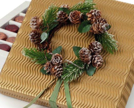 Detalles de Navidad. Caja de bombones para regalar en Navidad