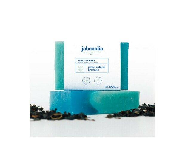 Jabón de Algas. Es rico en minerales, vitaminas y oligoelementos