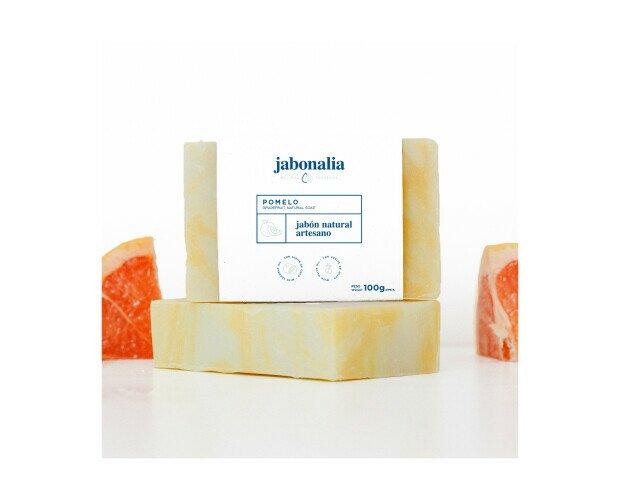 Jabón de Pomelo. Nos ofrece un intenso aroma cítrico y tiene propiedades revitalizantes