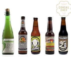 Cervezas artesanas. Gran variedad de cervezas artesanas