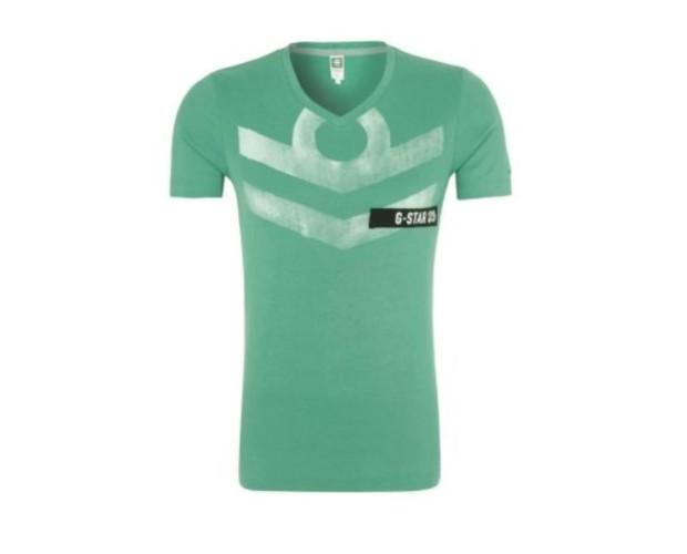 Camiseta verde. Cómoda y fresca
