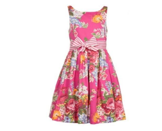 Vestido de flores. Vestidos coloridos