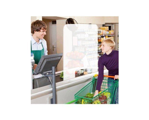 Mamparas de Protección.Adecuada  para el personal de la farmacia, hospital, supermercado, tienda, restaurante, comercio o puestos de oficina