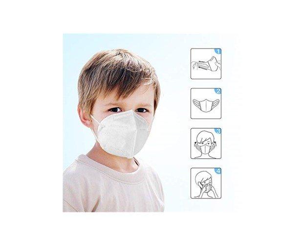 Mascarilla de Proteccion. Tienen una eficiencia de filtración superior al 95 %