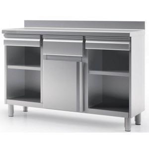 Mueble Cafetero. Muebles de acero inoxidable