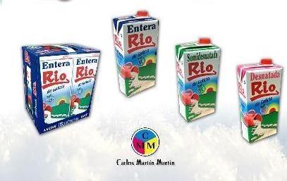 Leche. Nuestras distintas variedades de leche y sus envases