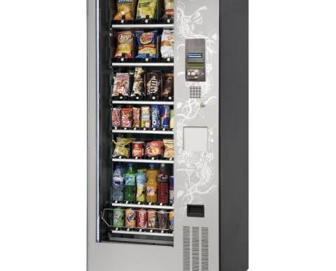 Instalación de Máquinas de Snacks para Vending.Su sistema de canales flexibles y adaptables a cualquier tipo de producto