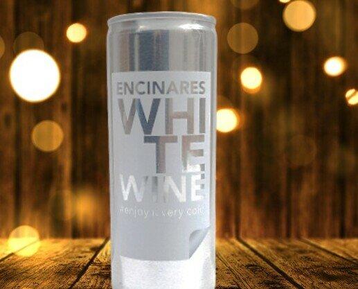 vinos en lata/canned wine. Canned Wines Vinos enlatados ENCINARES-TERCERAS MARCAS vinos en latas multiformatos