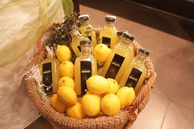 Licor de limón. Delicioso licor de limón artesanal