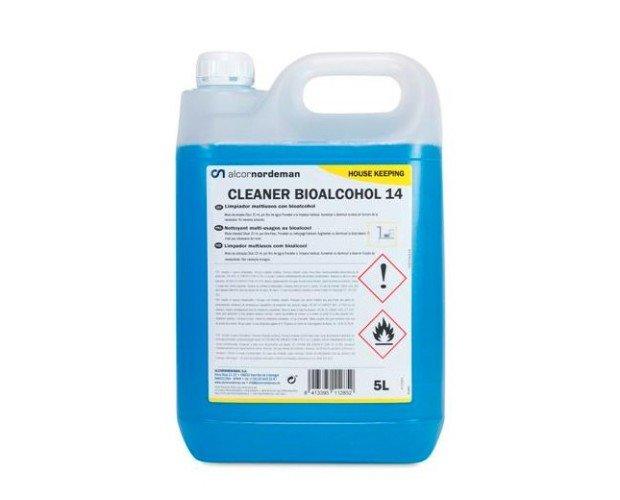 Fregasuelos Bioalcohol. Limpia a profuncidad