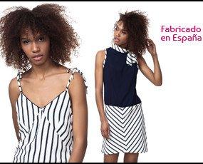 Vest. Top: 21€ Vestido: 32€ También disponible en más colores.