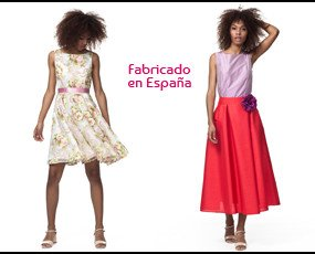 Falda corta. Vestido corto: 55€ Falda fiesta: 40€