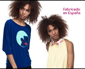 Blusas. Top azul: 22€ Blusa cuellos: 23€