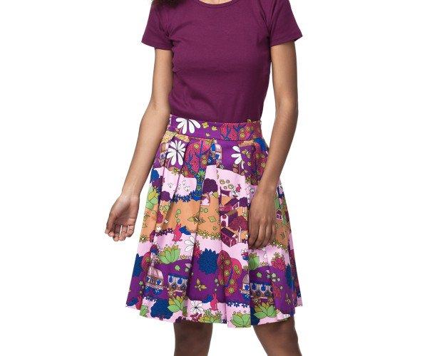 Falda. Variedad de colores