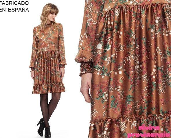 Vestido Zelda marrón. Vestidos para una ocasión especial