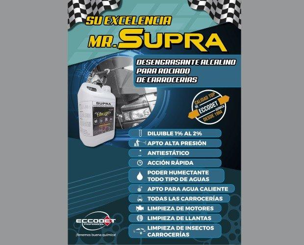 PRESENTACION SUPRA. detergente para carrocería