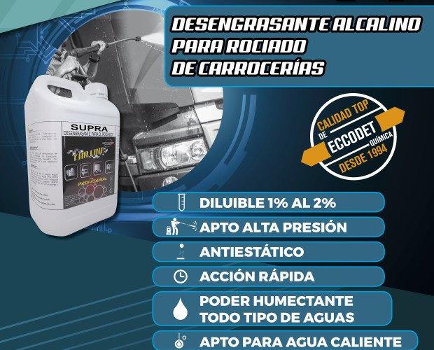 Productos para Lavado de Vehículos.Desengrasante alcalino para rociado de carrocerías