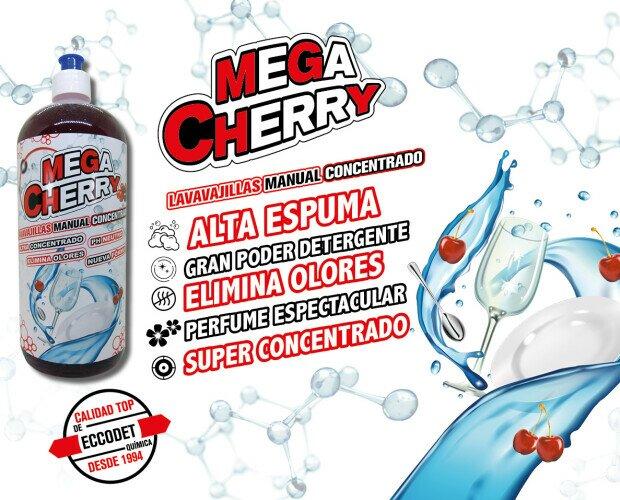 MEGA CHERRY. Lavavajillas manual concentrado
