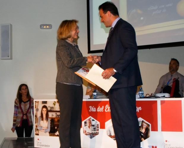Conservas de Marisco.Entrega de Premio Emprendedor 2.015