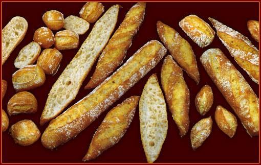 Proveedores de Pan. Panadería, bollería y pastelería