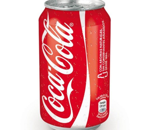 COCA LATA. Cola