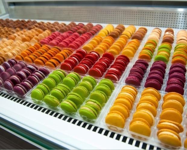 Macarons.Variedad de sabores