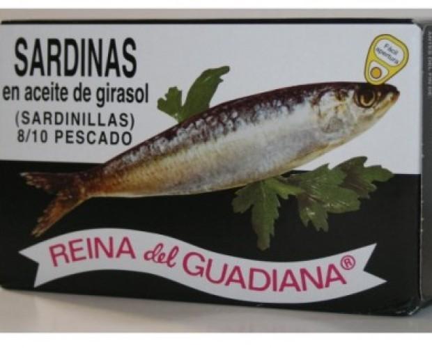 Conservas de Pescado. Sardinas en Aceite de Oliva