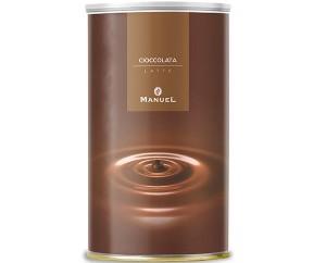Chocolate en pote Clásico. Frasco 1 kg, 8 latas