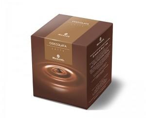 Chocolate clásico con leche en sobrecito. Caja de 40 sobres