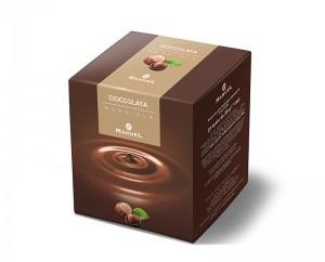 Chocolate en sobre aroma avellana. Caja de 40 sobres