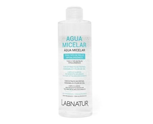 Desmaquillantes Naturales.Agua Micelar Labnatur para la 3pieza del rostro