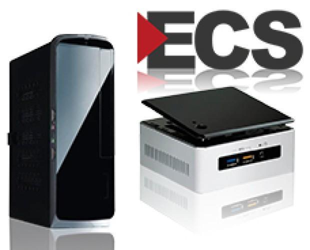ECS Computers. Minimo tamaño, maximas prestaciones