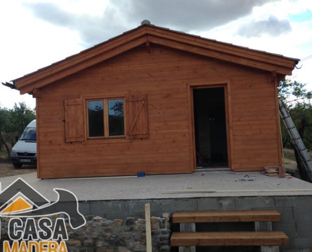 Casas de Madera.Realizamos proyectos adaptados a las necesidades y exigencias de cada cliente.