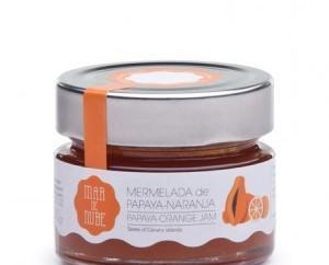 Memerlada de papaya y naranja. Nuestra mermelada tiene un toque cítrico que realza el sabor de la papaya