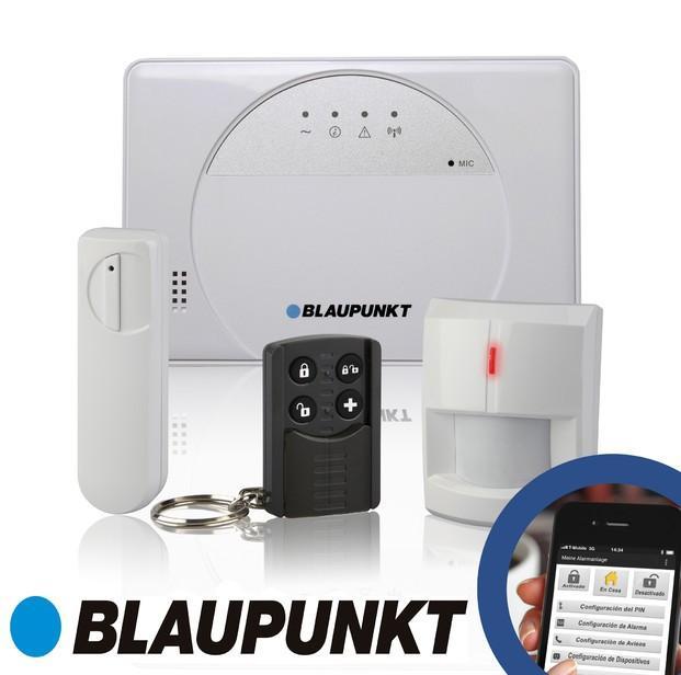 Kit SA2500. Sistema de Alarma GSM e inalámbrica. SIn cuotas mensuales