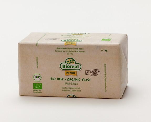Levadura Bioreal. Levadura ecológica fresca para elaborar panes.