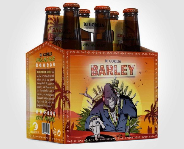 Pack 6 Barley. Cervezas refescantes.