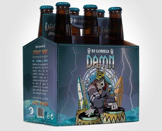 Pack 24 cervezas Damn. Para una tarde familiar