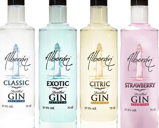 Gama de Ginebras. Gama de Ginebras Premium Alboran Gin