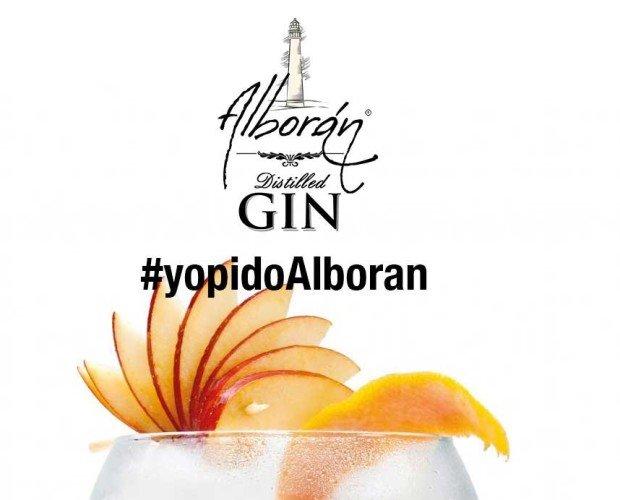 Yo Pido Alboran. Hashtag de Gin Alboran