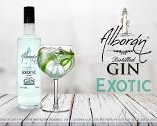 Alborán exotic. Ginebra Premium de Melon Gin Alboran