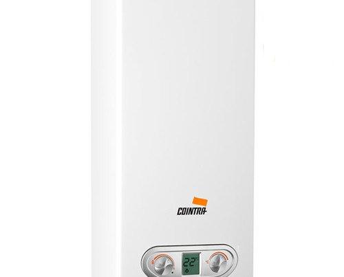 Calentador a Gas. Consumo regulado y extraordinario poder calorífico