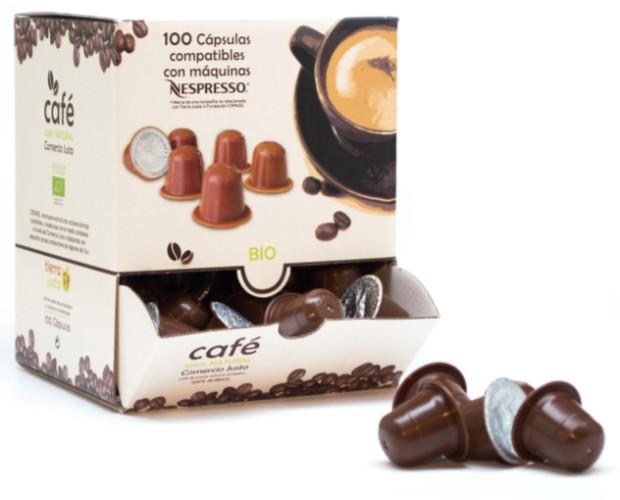 Café 100 cápsulas. 100% arábica de altura orgánico Honduras